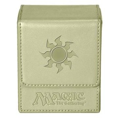 Ultra Pro Flip Box White Mana Magic the Gathering